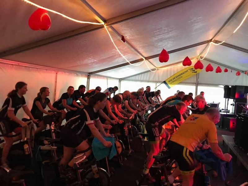 Jubilerende spinningmarathon voor Energy4All